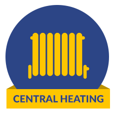 central heating icon